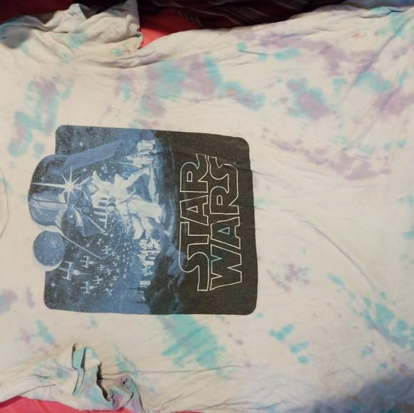 Star wars tie dye shirt